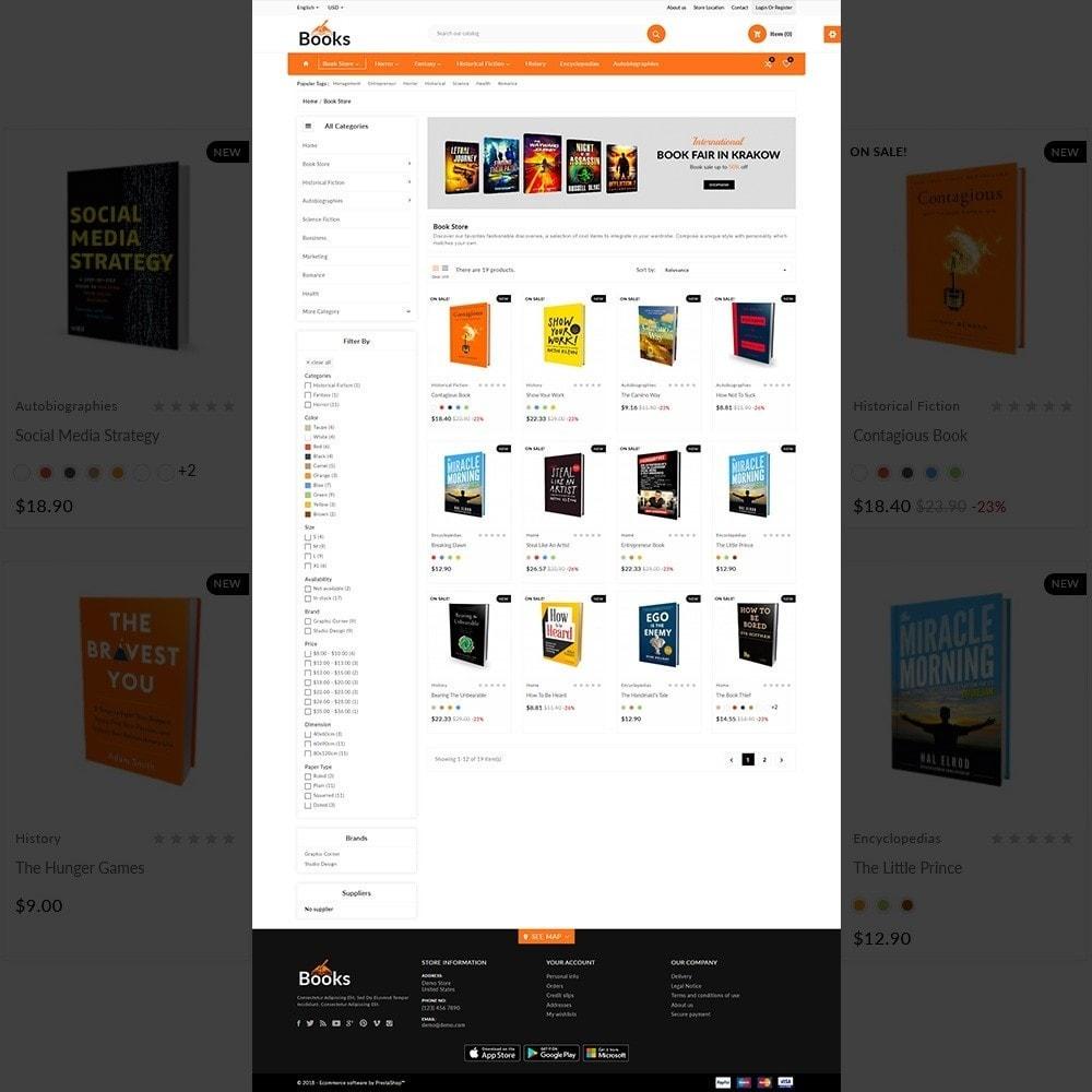 theme - Home & Garden - The Book – Books Store - 3