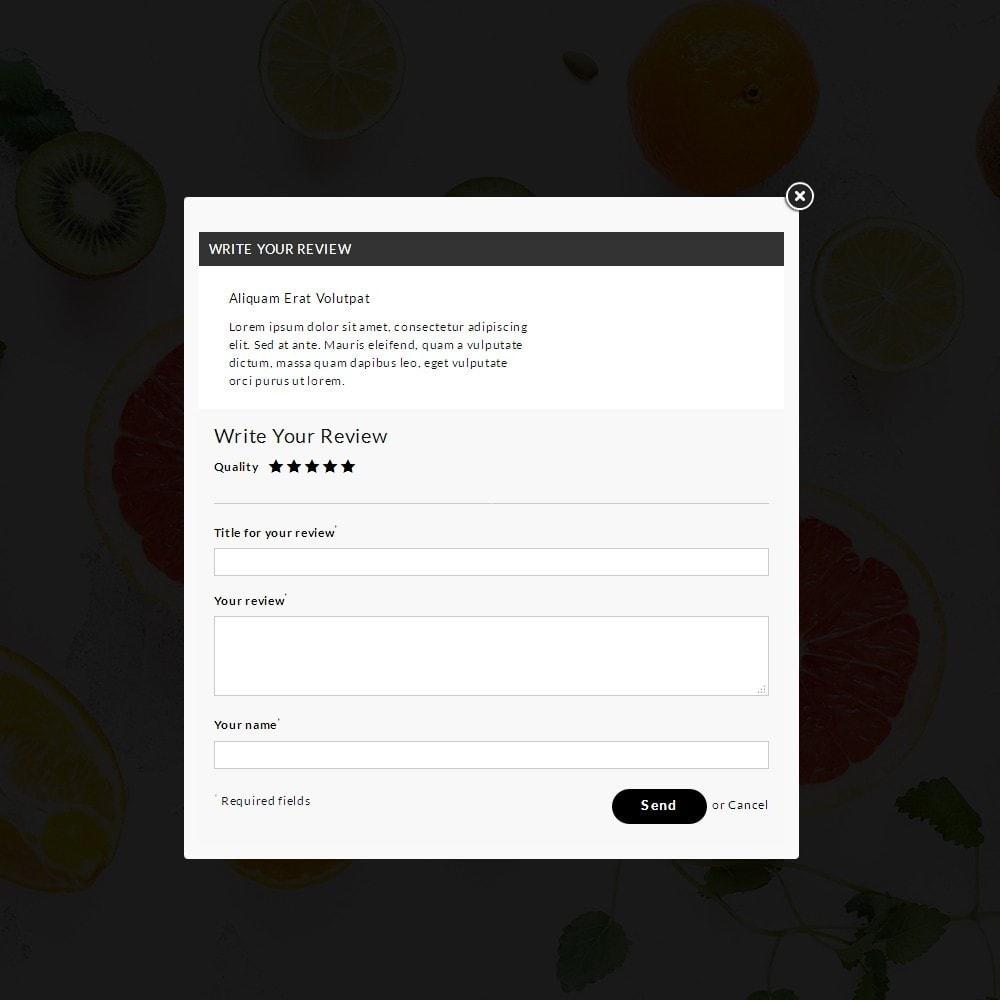 theme - Alimentation & Restauration - Fresh Culture Organic Store - 6
