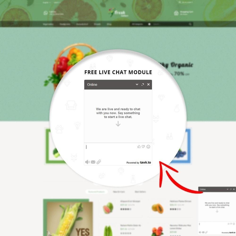 theme - Alimentation & Restauration - Fresh Culture Organic Store - 11