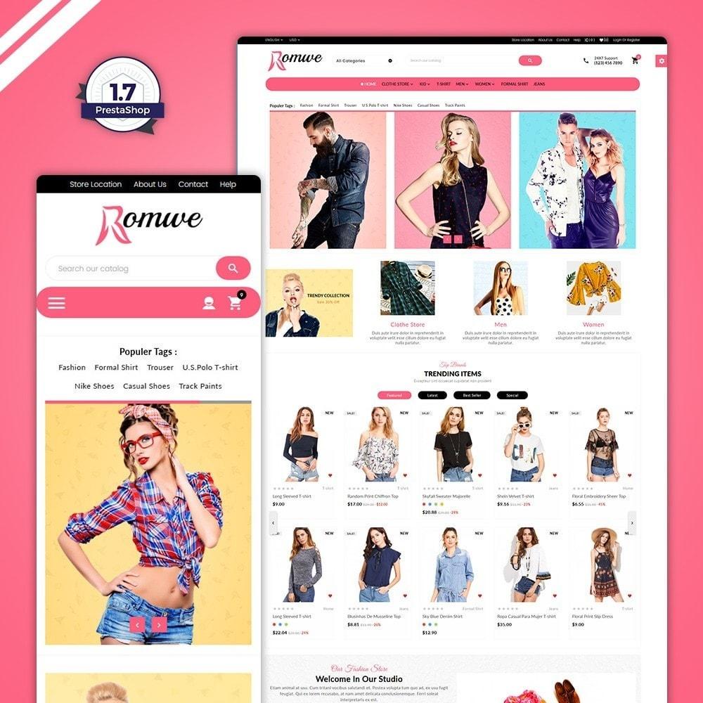 theme - Fashion & Shoes - Omwe–Fashion  Mega Shop - 1