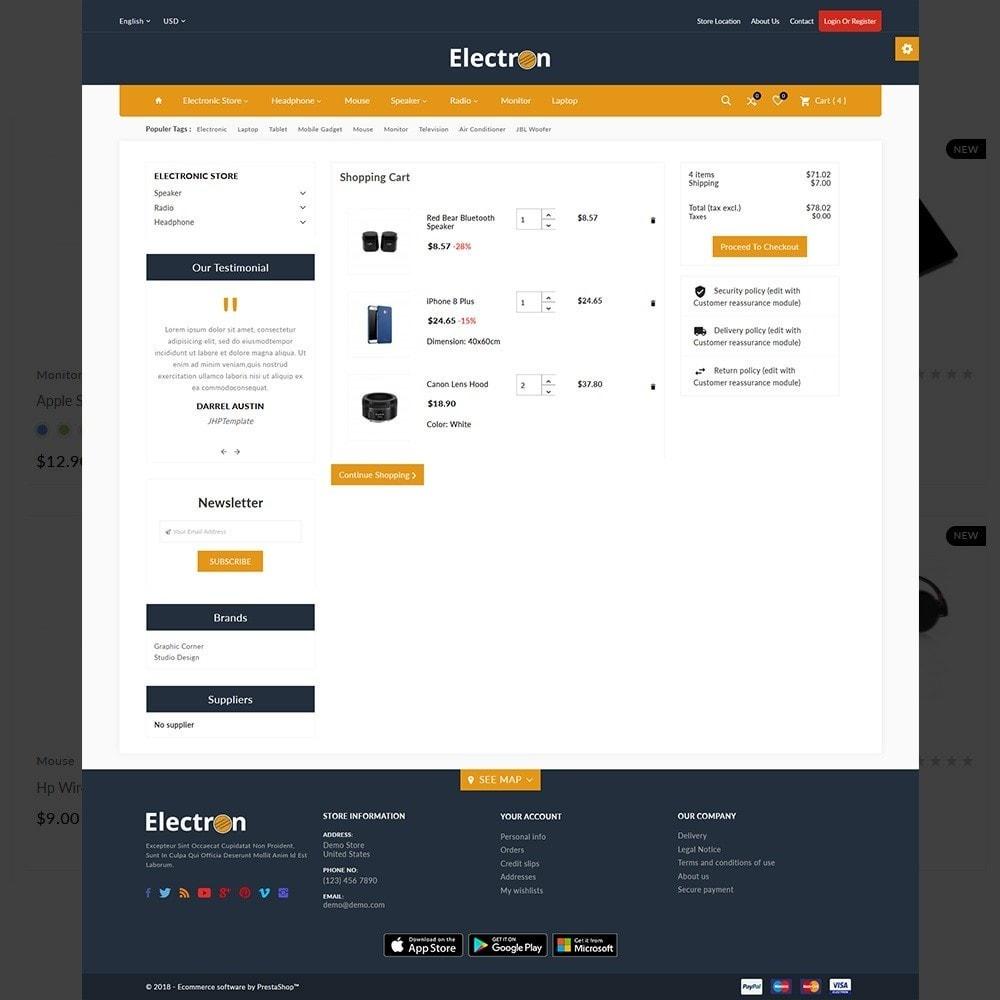 theme - Electronique & High Tech - Electron–Electronic Mega Mall - 4