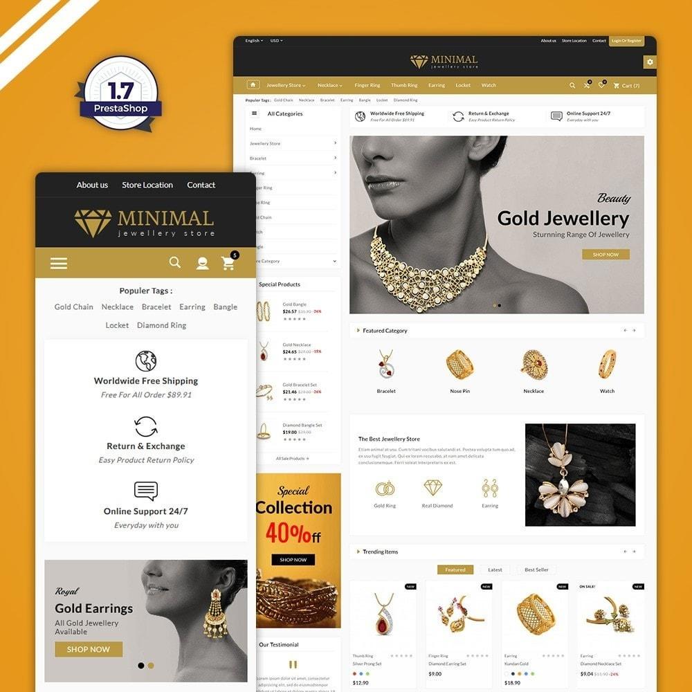 theme - Jewelry & Accessories - The Diamond –Jewelry Mega Shop - 1