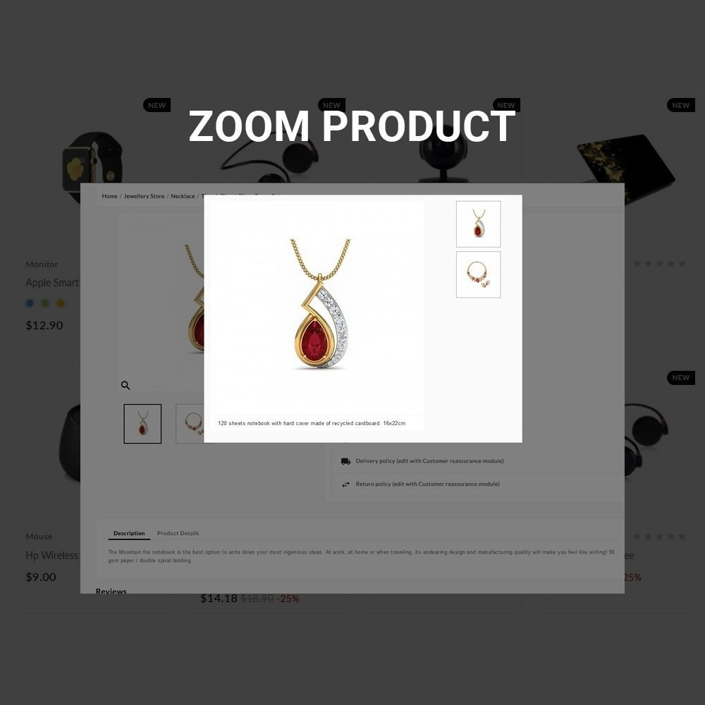 theme - Jewelry & Accessories - The Diamond –Jewelry Mega Shop - 7