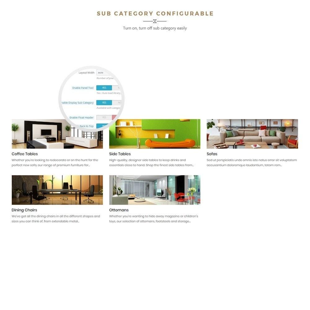 theme - Casa & Jardins - Boho - Furniture & Interior Home Décor - 5
