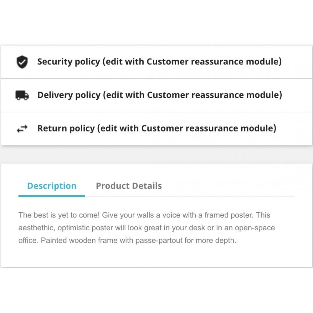module - Blocks, Reiter & Banner - Customer reassurance - 3