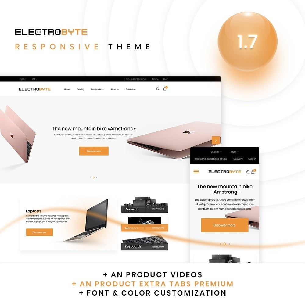 theme - Eletrônicos & High Tech - Electrobyte - High-tech Shop - 1