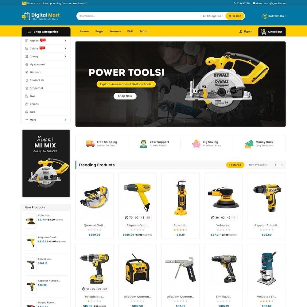 theme - Electronics & Computers - Digital Mart Tools Equipment - 2