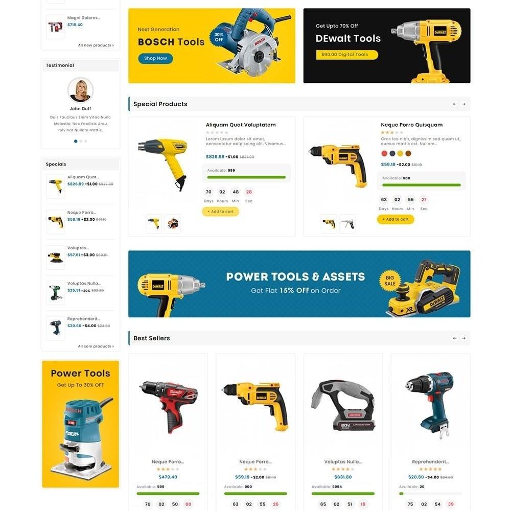 theme - Eletrônicos & High Tech - Digital Mart Tools Equipment - 3