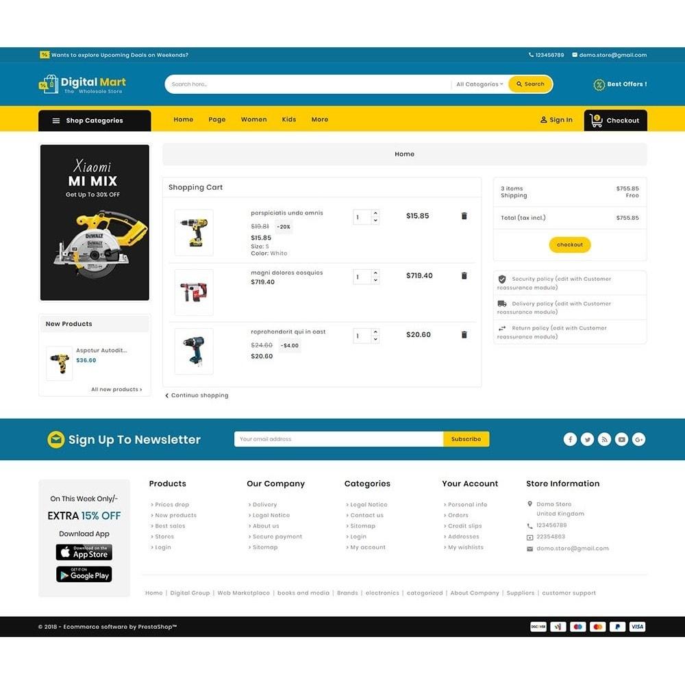 theme - Eletrônicos & High Tech - Digital Mart Tools Equipment - 8