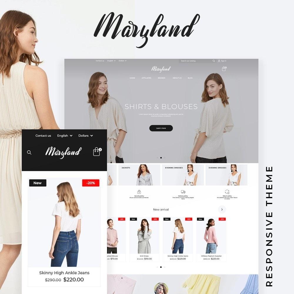 theme - Fashion & Shoes - Maryland Fashion Store - 1