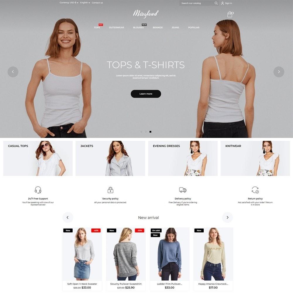 theme - Fashion & Shoes - Maryland Fashion Store - 2
