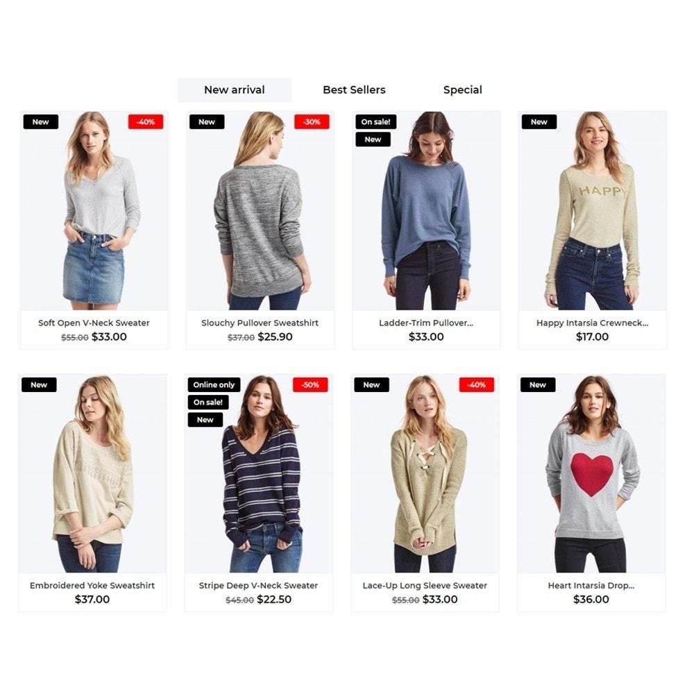 theme - Fashion & Shoes - Maryland Fashion Store - 3