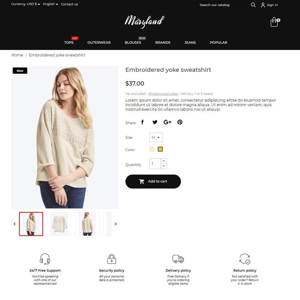 theme - Fashion & Shoes - Maryland Fashion Store - 5
