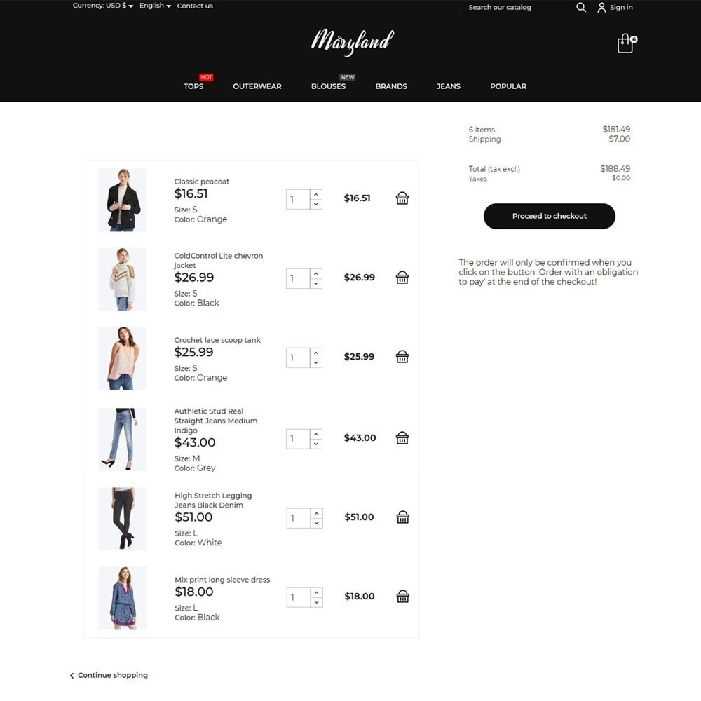 theme - Moda & Calçados - Maryland Fashion Store - 7