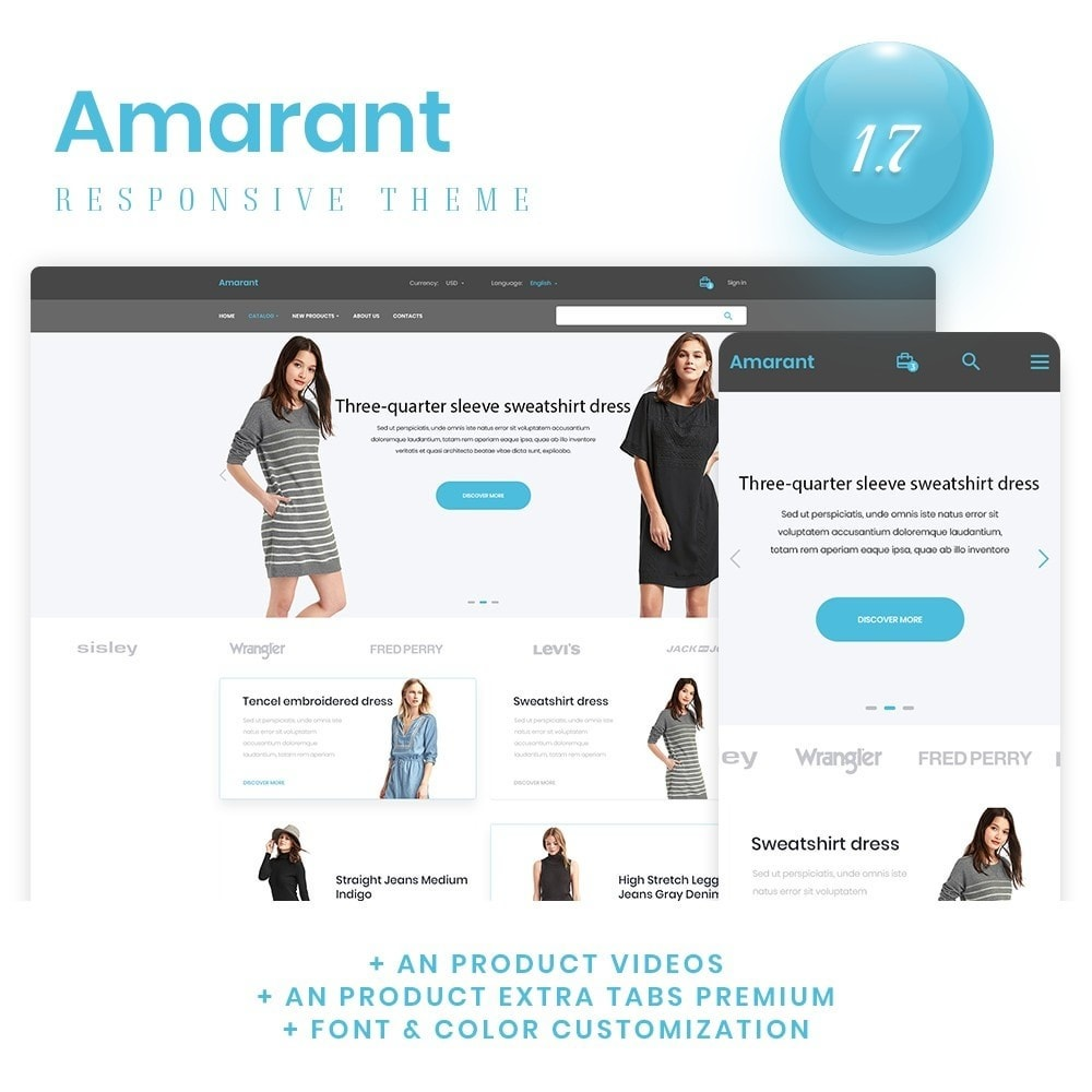theme - Mode & Chaussures - Amarant Fashion Store - 1