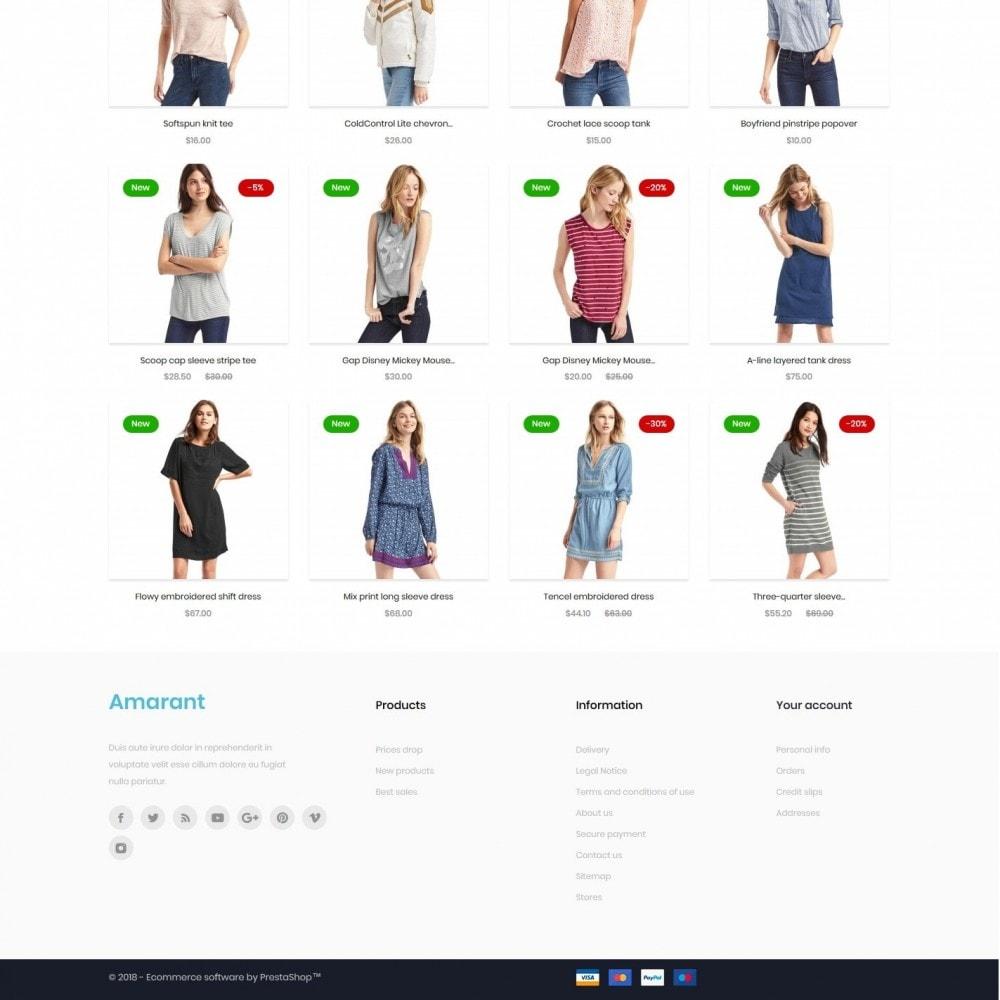 theme - Fashion & Shoes - Amarant Fashion Store - 4