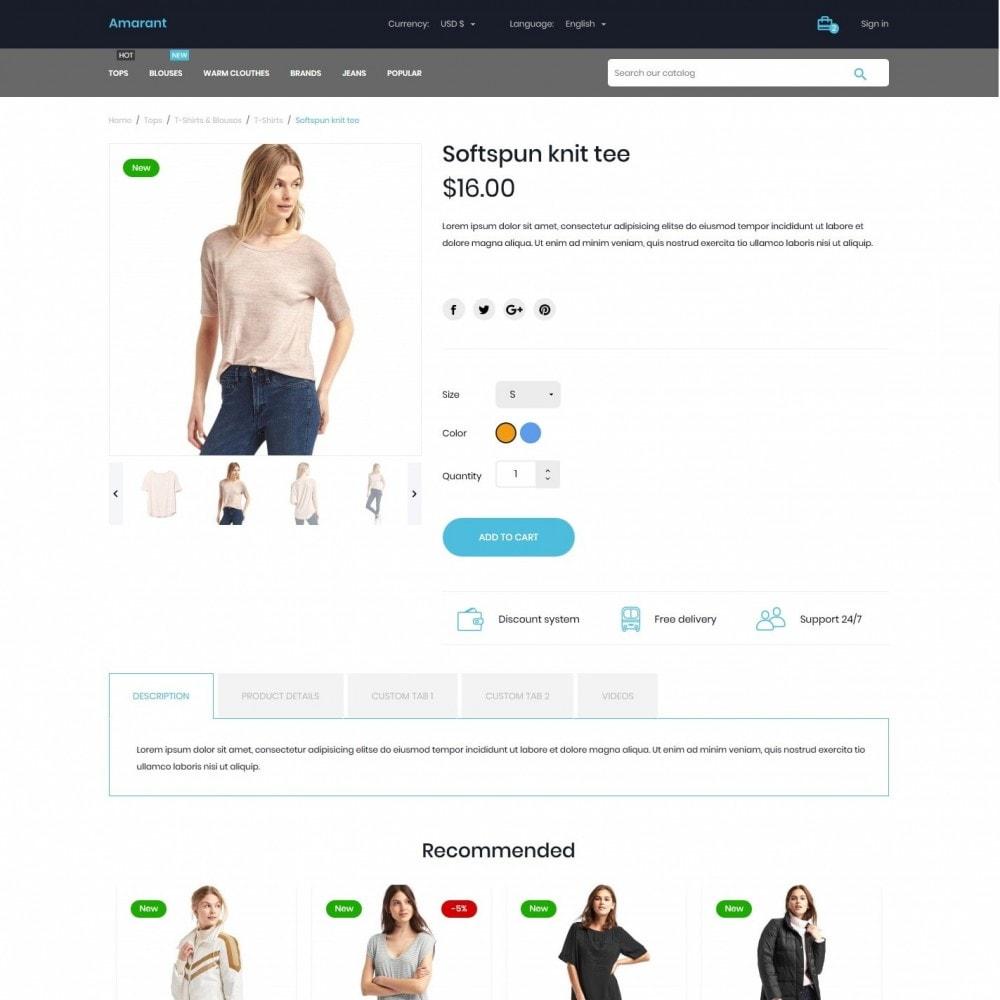 theme - Fashion & Shoes - Amarant Fashion Store - 6