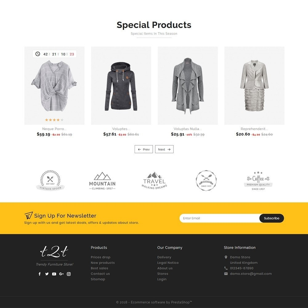theme - Fashion & Shoes - t2t Fashion Style - 5