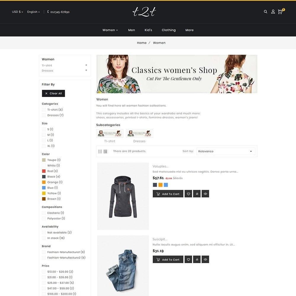 theme - Fashion & Shoes - t2t Fashion Style - 7