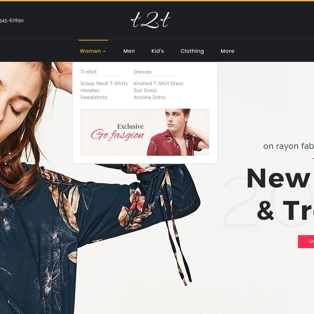 theme - Fashion & Shoes - t2t Fashion Style - 12