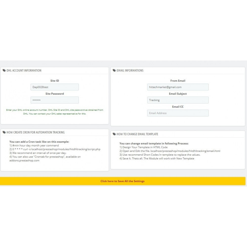 module - Suivi de livraison - DHL Express Delivery Status - 3