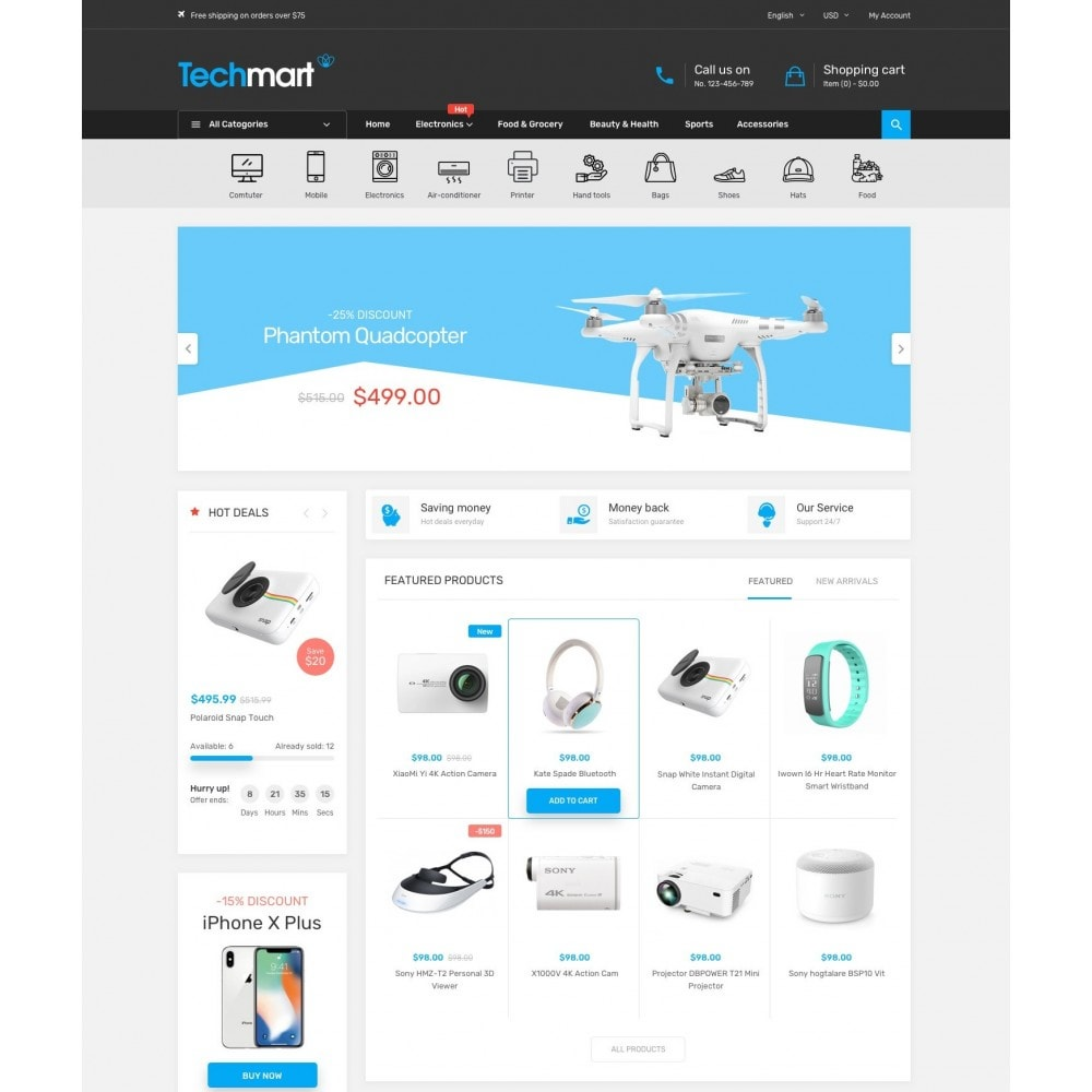 theme - Heim & Garten - Techmart - Electronic Store - 2