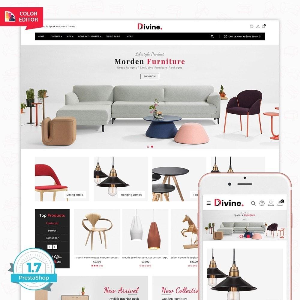 theme - Home & Garden - Divine -  The Furniture Store - 1