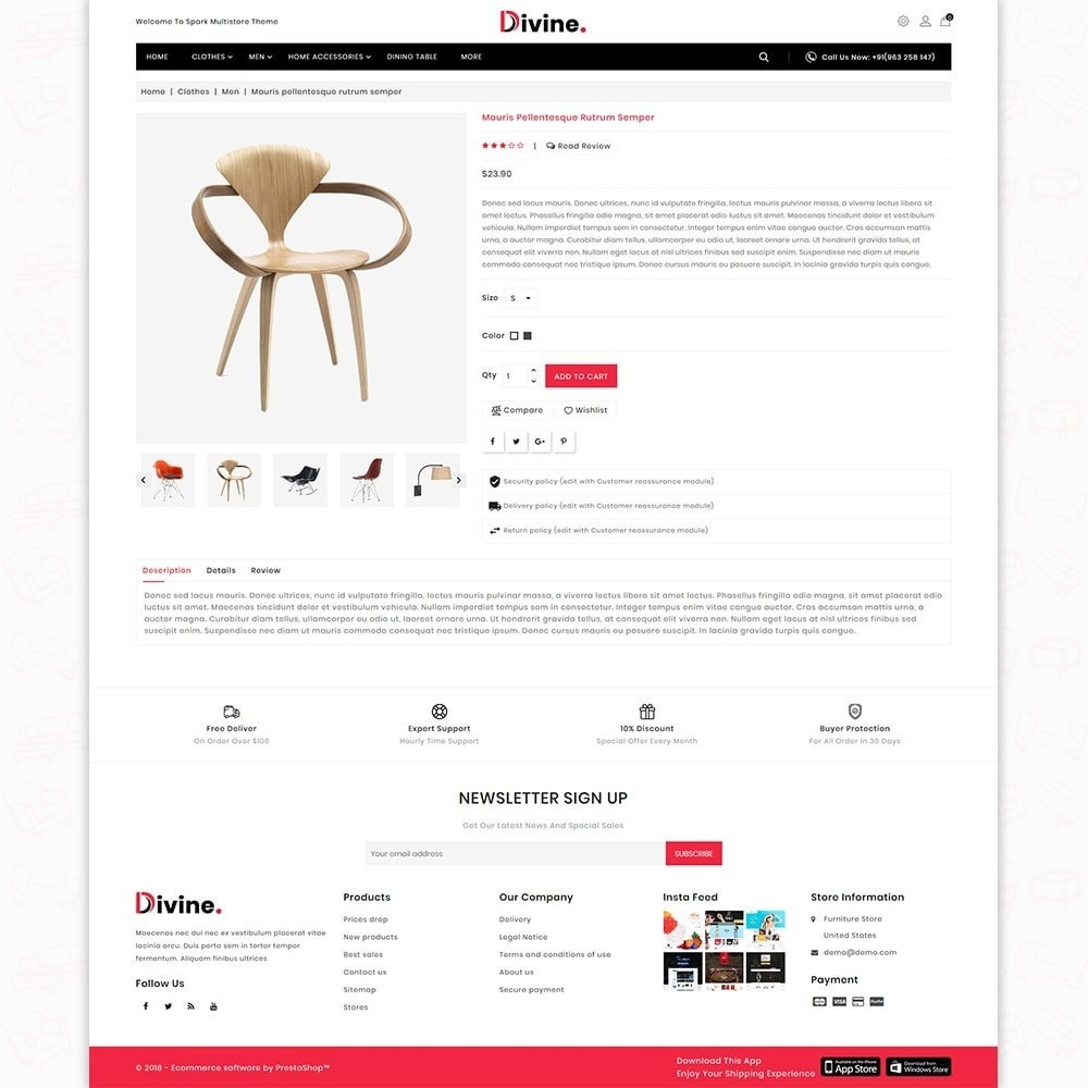 theme - Maison & Jardin - Divine -  The Furniture Store - 5