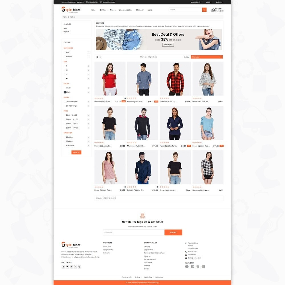 theme - Moda & Calçados - Fashion Mart - The Fashion Shop - 3