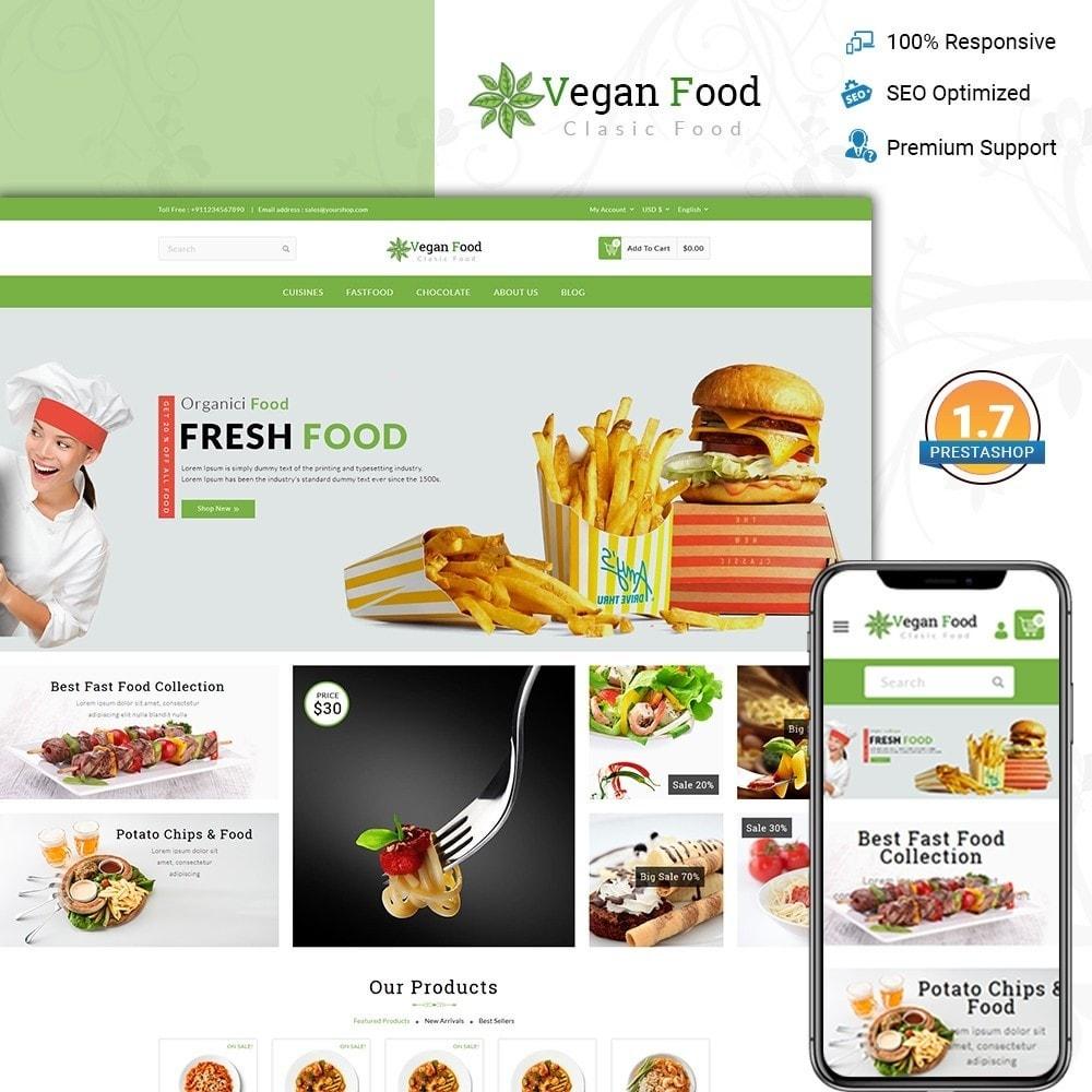 theme - Food & Restaurant - Vegan Food Store - 1