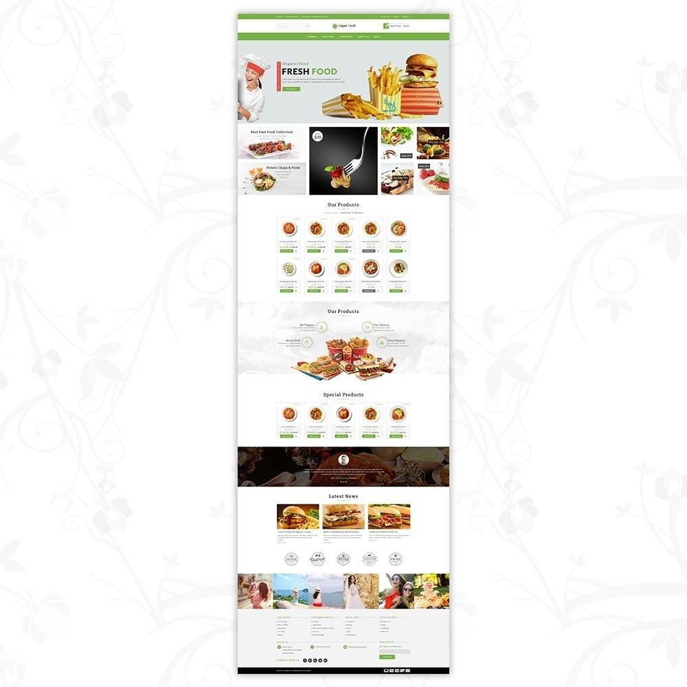 theme - Food & Restaurant - Vegan Food Store - 2
