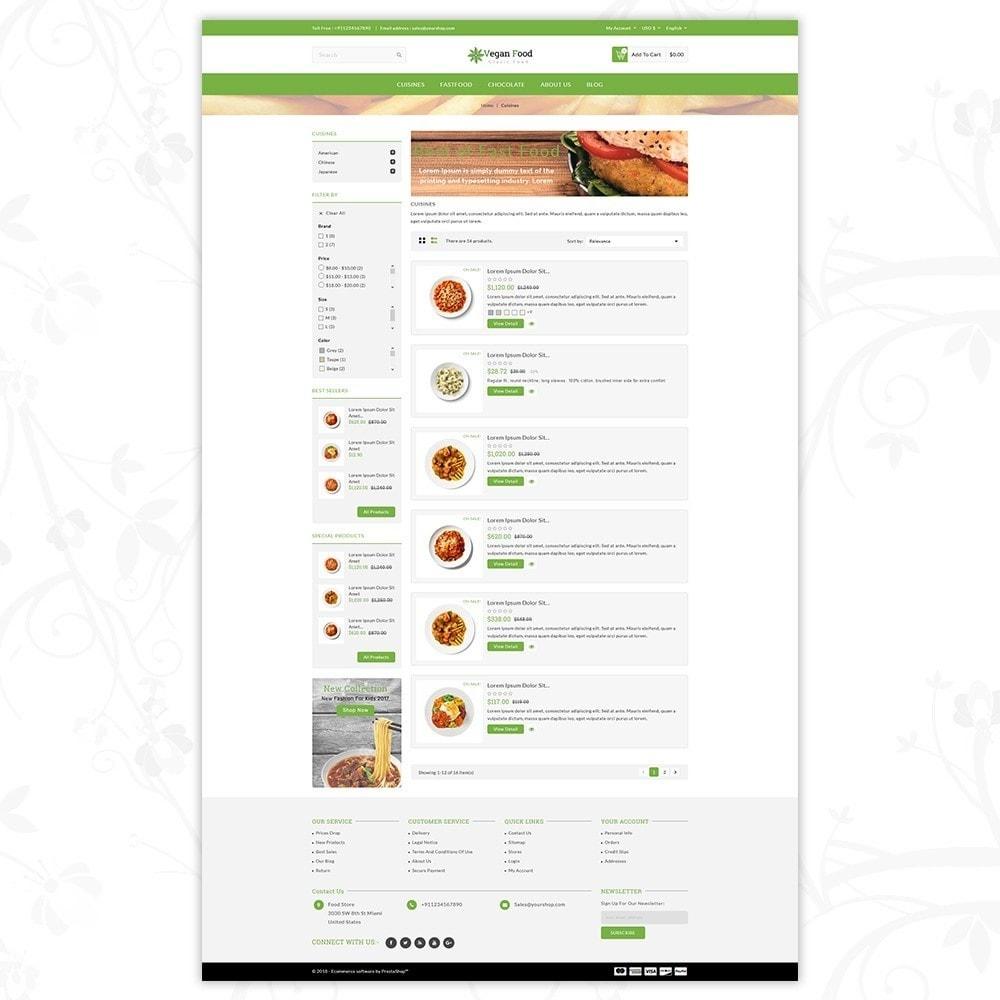 theme - Food & Restaurant - Vegan Food Store - 4