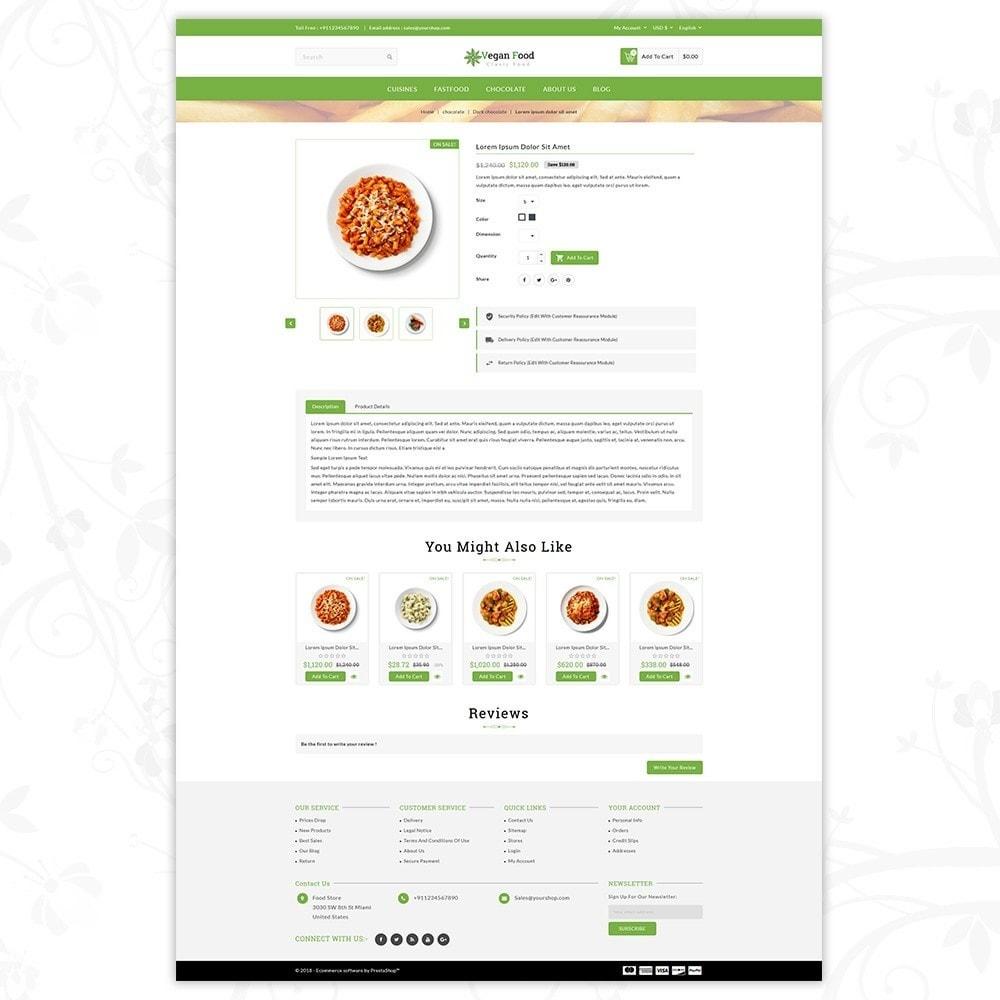 theme - Food & Restaurant - Vegan Food Store - 5