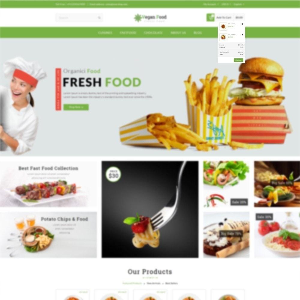 theme - Food & Restaurant - Vegan Food Store - 6