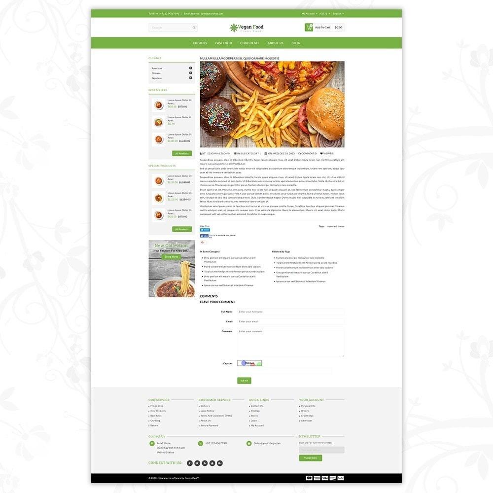 theme - Food & Restaurant - Vegan Food Store - 8