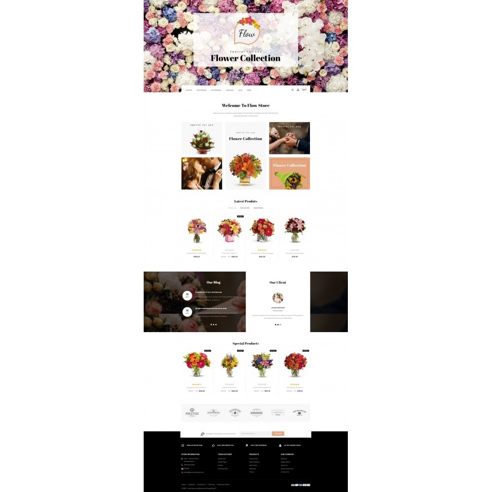 theme - Gifts, Flowers & Celebrations - Flow - Flowers Store - 2