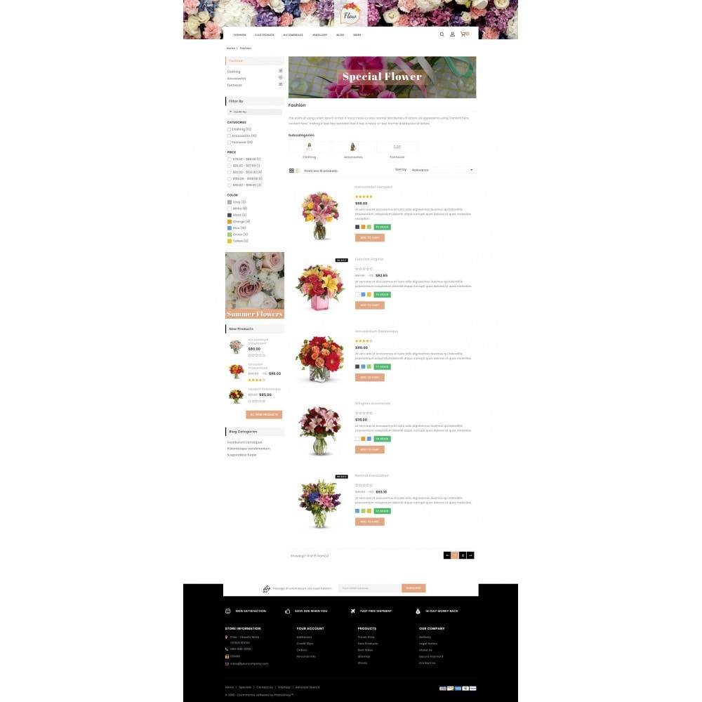 theme - Gifts, Flowers & Celebrations - Flow - Flowers Store - 4