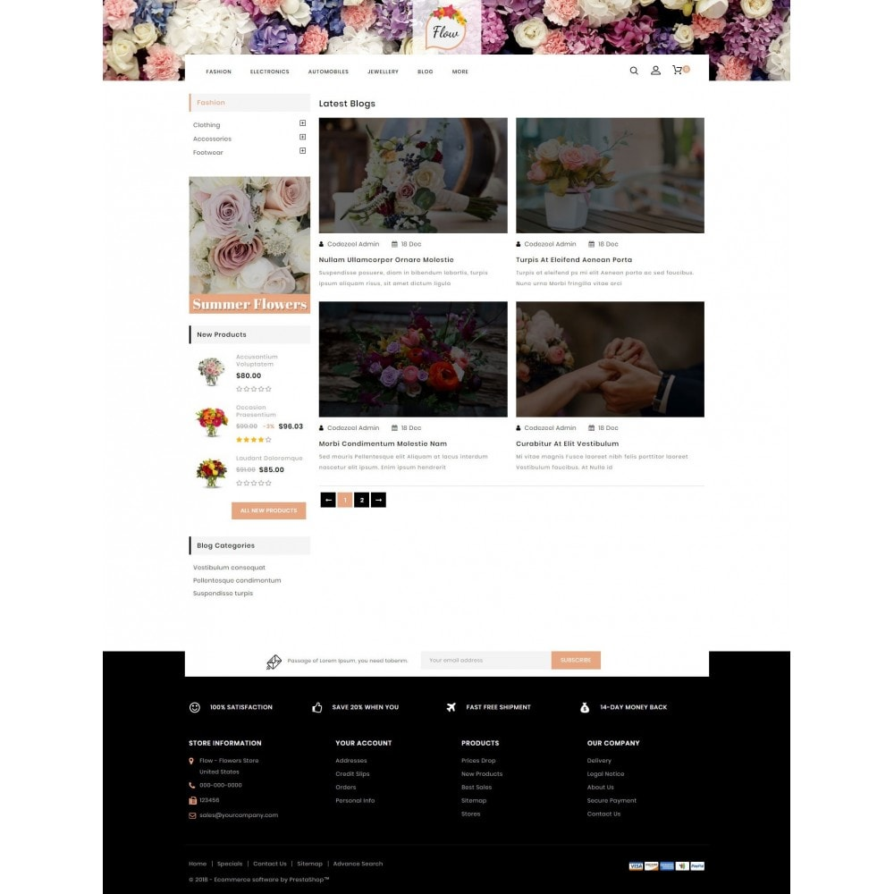 theme - Gifts, Flowers & Celebrations - Flow - Flowers Store - 9