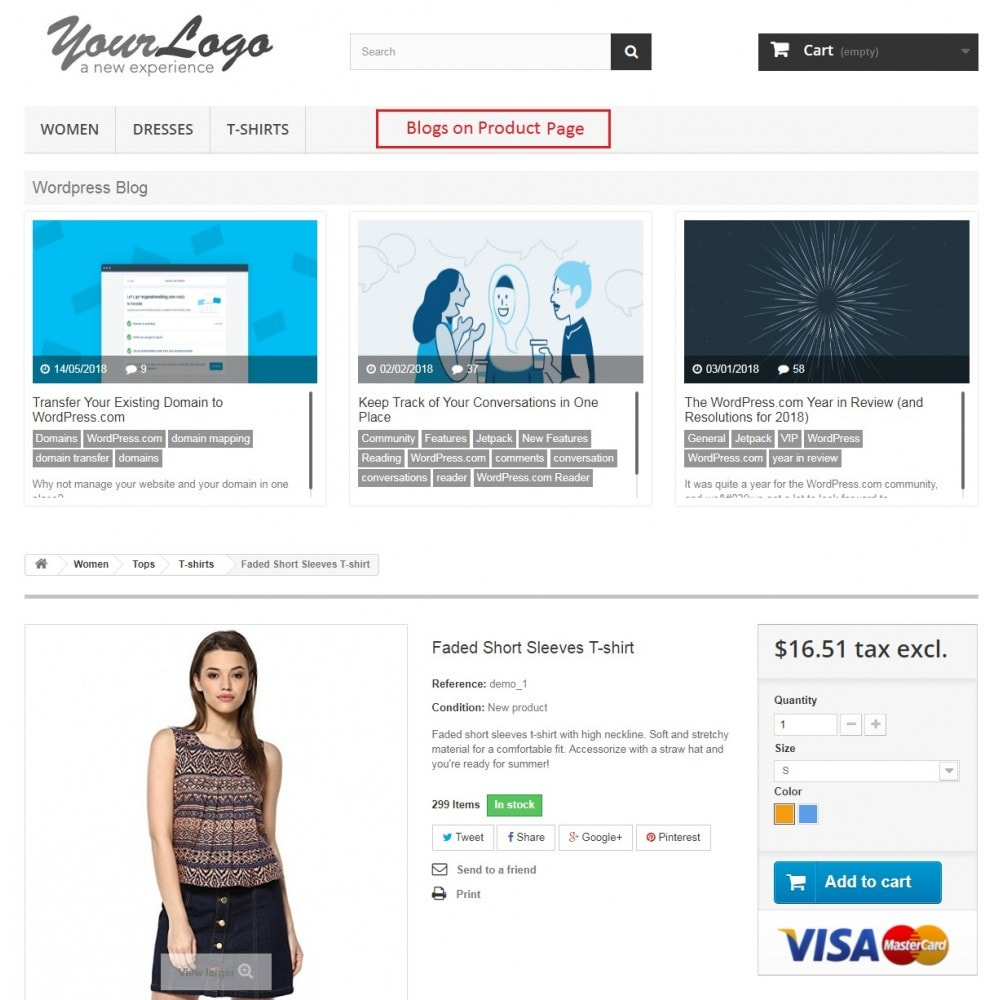 module - Blog, Forum & Actualités - Knowband - Wordpress Blog Post Manager - 2