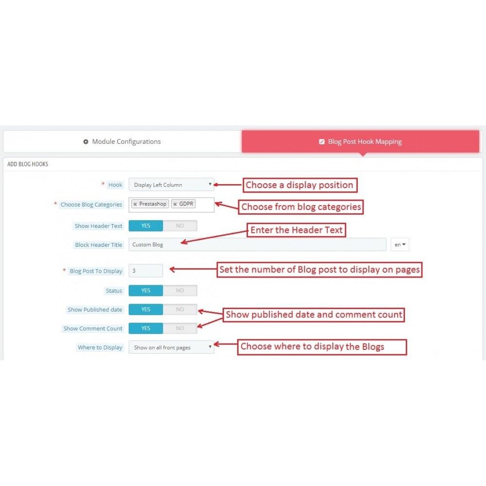 module - Blog, Forum & Actualités - Knowband - Wordpress Blog Post Manager - 7