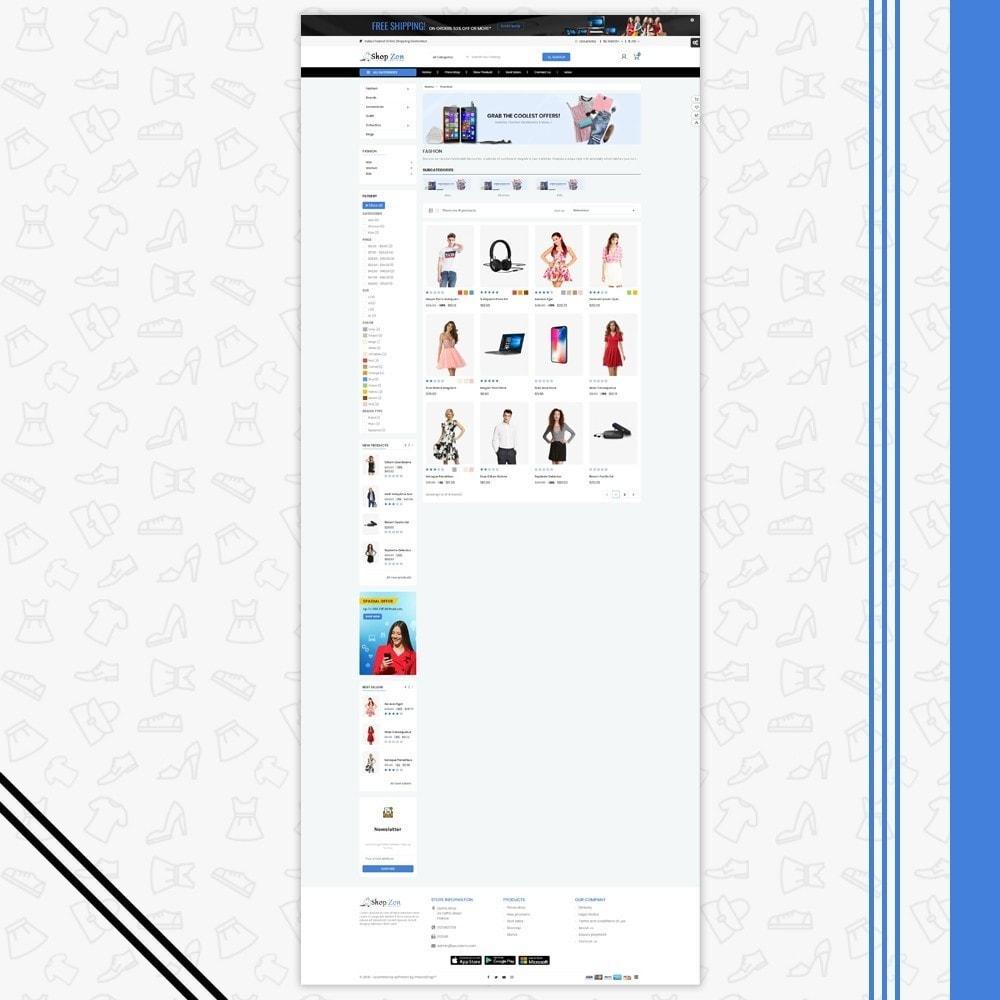 theme - Moda & Calçados - Shop Zone Multi Store - Fashion | Electronics - 3