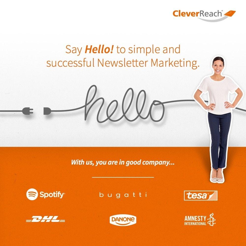 module - Newsletter & SMS - CleverReach® - Newsletter Marketing - 1
