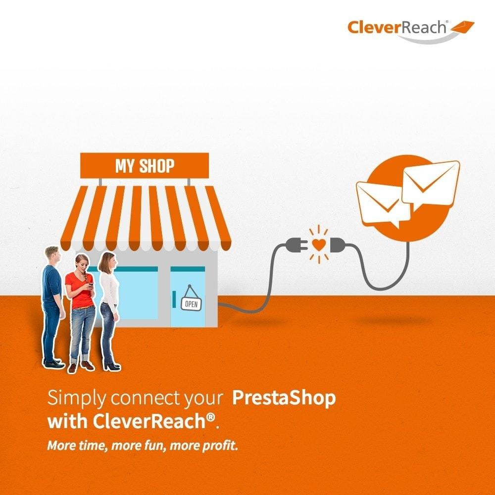module - Newsletter & SMS - CleverReach® - Newsletter Marketing - 2