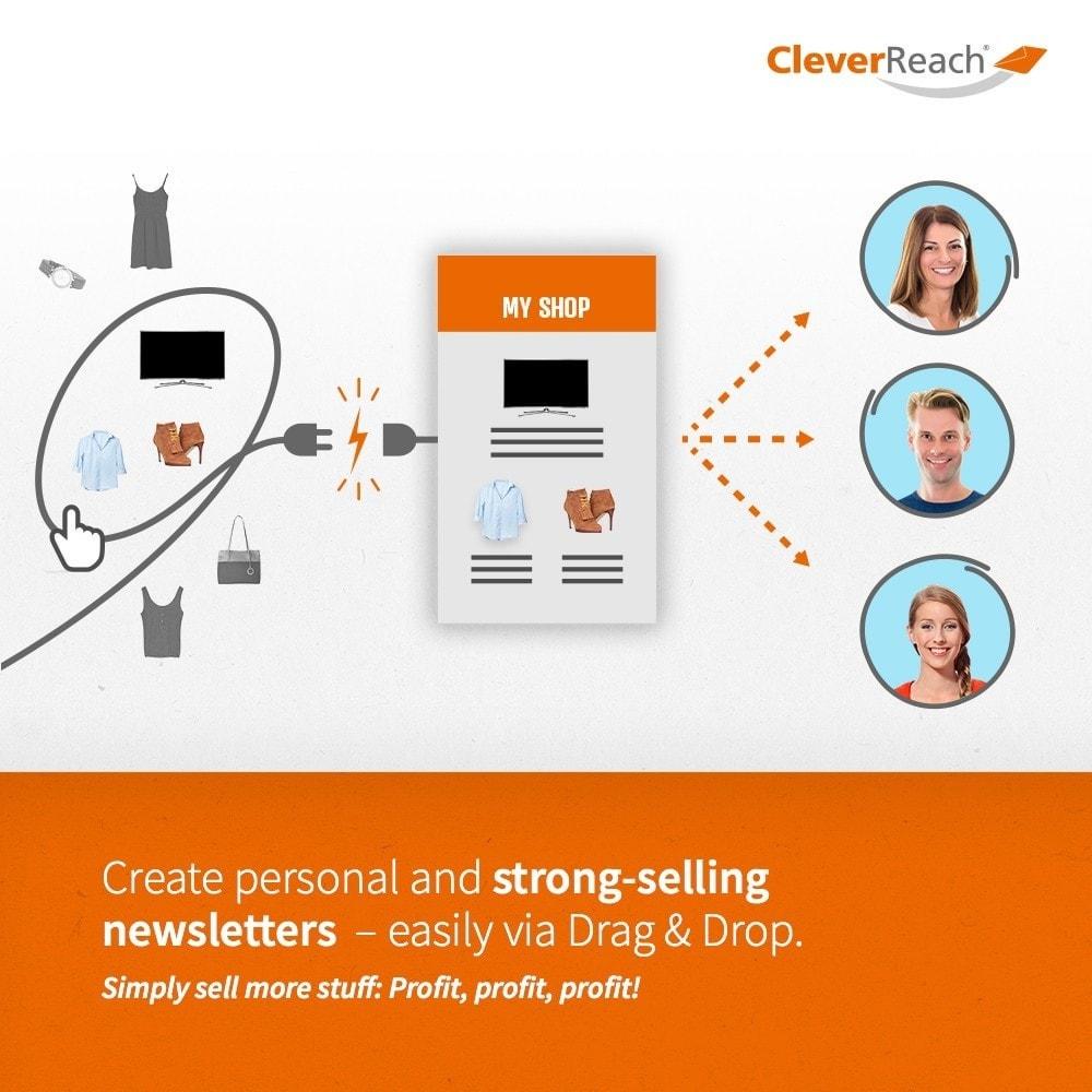 module - Newsletter & SMS - CleverReach® - Newsletter Marketing - 3