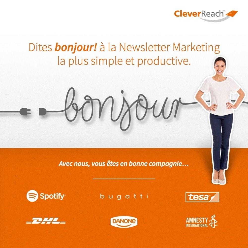 module - Newsletter & SMS - CleverReach® - E-Mail Newsletter - 1