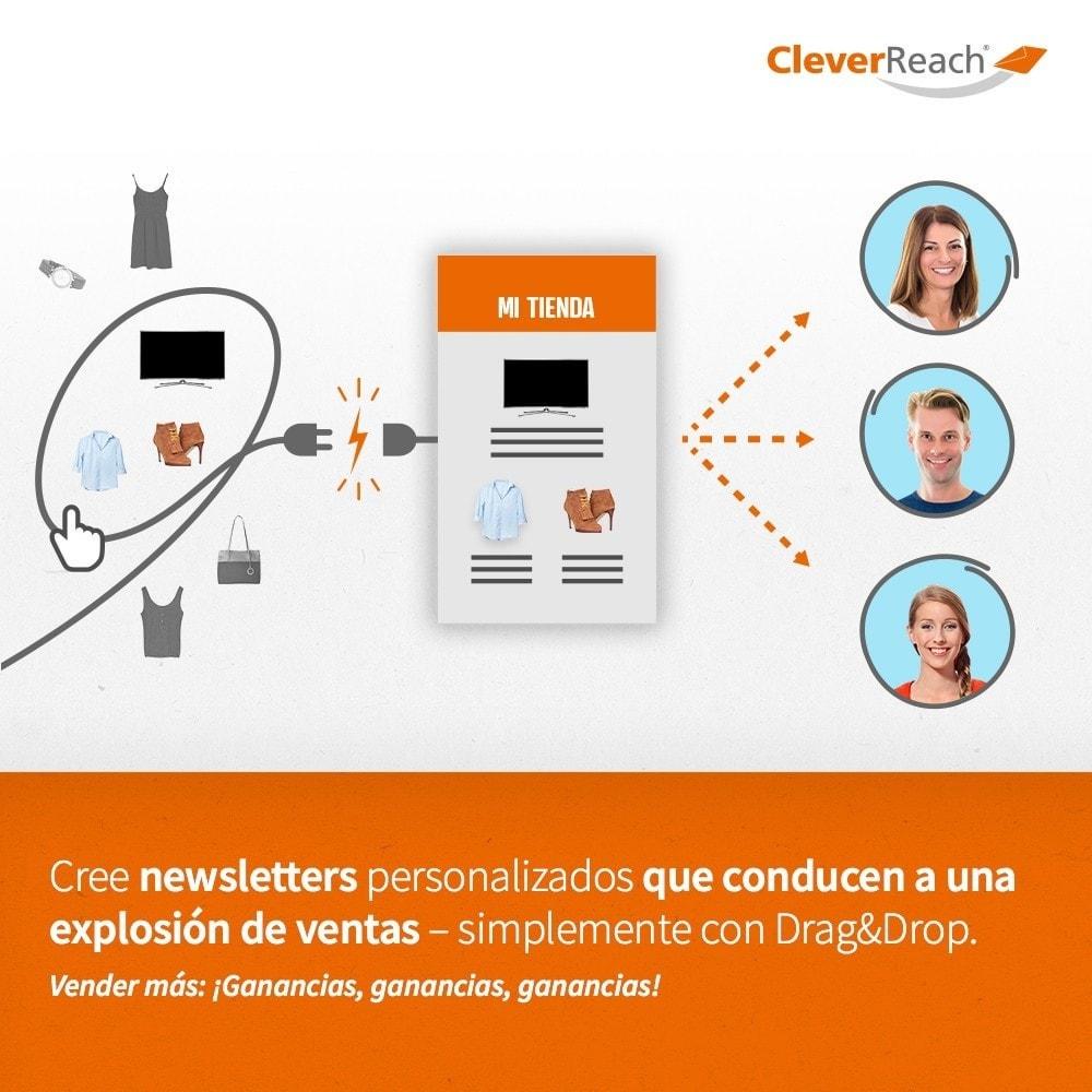 module - Newsletter y SMS - CleverReach® - publicidad por correo - 3