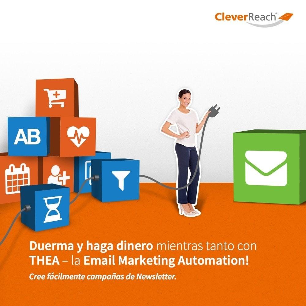 module - Newsletter y SMS - CleverReach® - publicidad por correo - 5