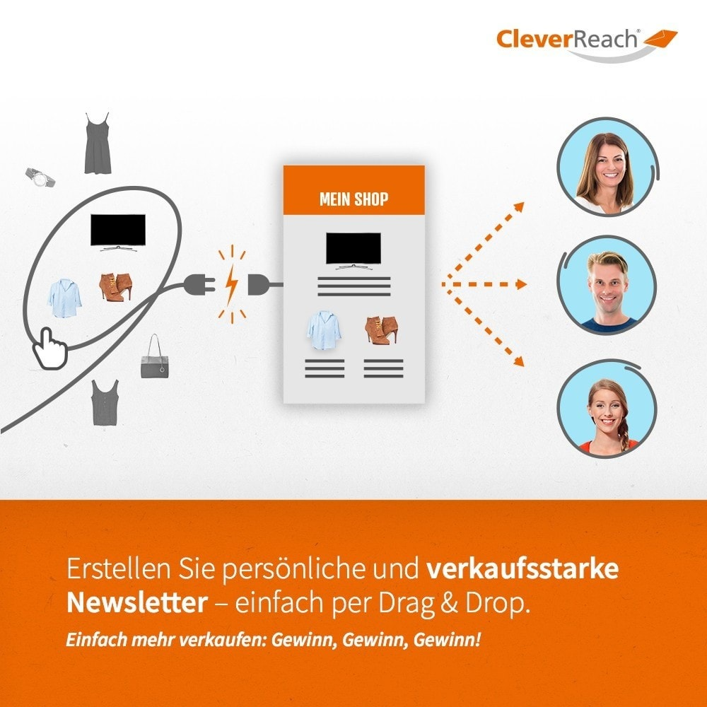 module - Newsletter & SMS - CleverReach® - Newsletter Marketing - 3