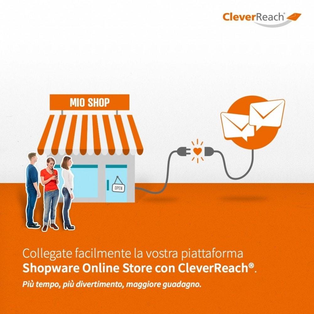 module - Newsletter & SMS - CleverReach® - inviare newsletter - 2