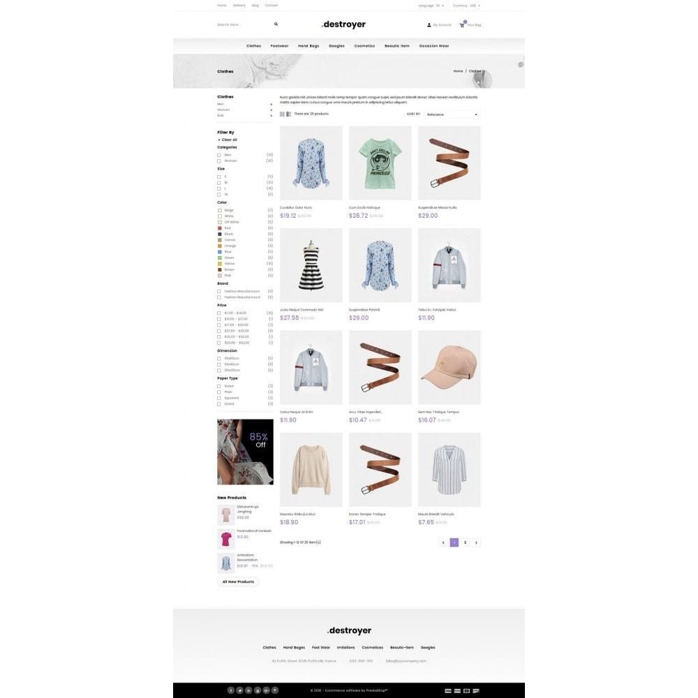 theme - Moda & Calçados - Destroyer - Fashion Store - 3